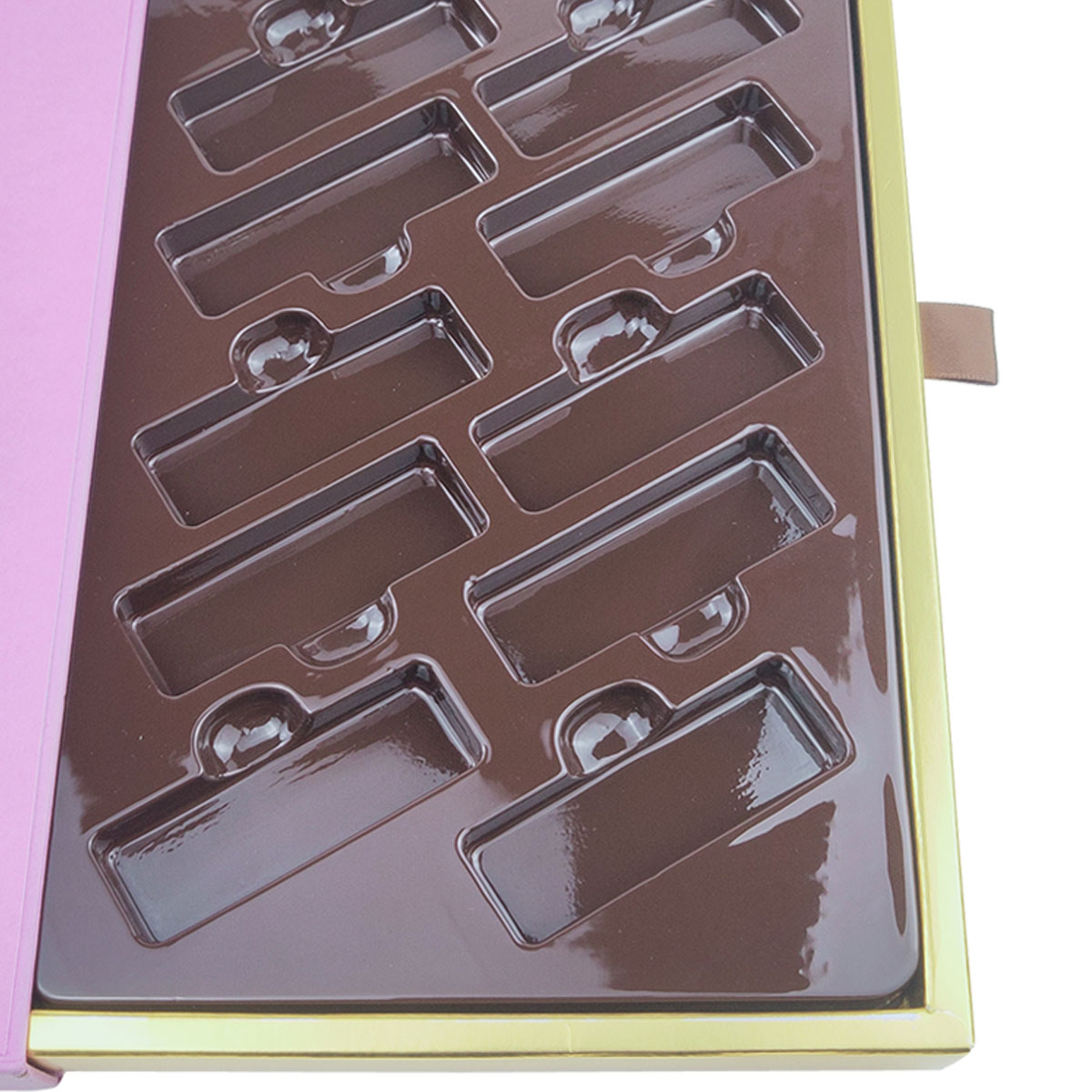PET tray for chocolate box