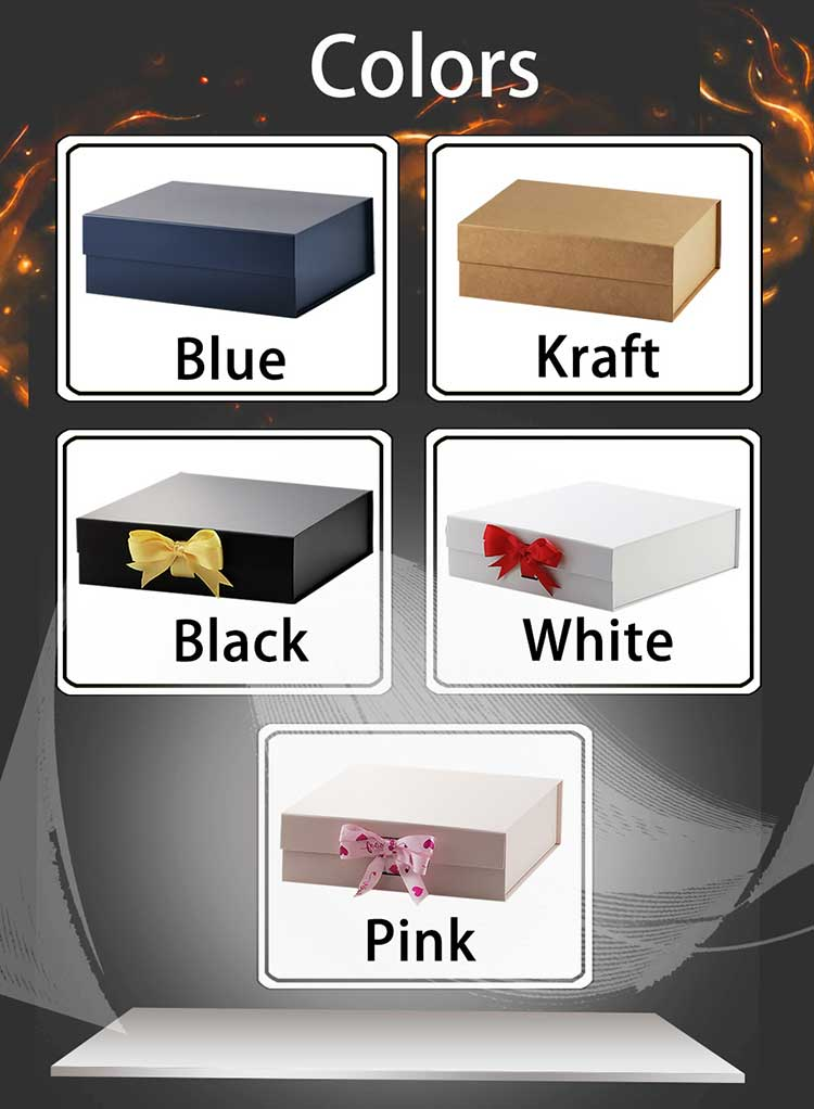 stock magnetic gift box colors