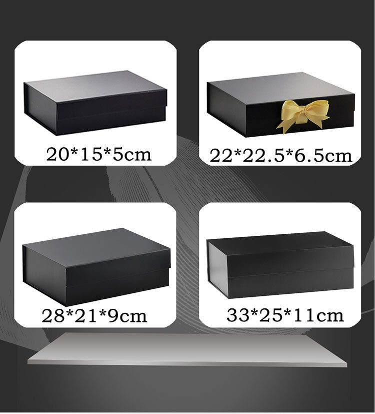 stock magnetic gift box sizes