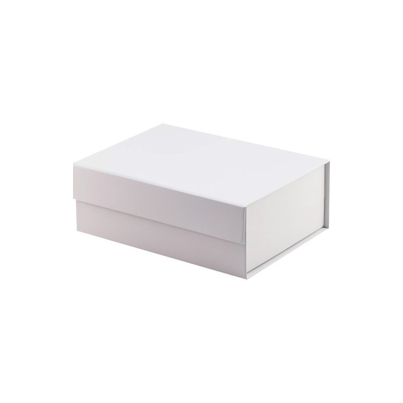 White Magnetic Flap Gift Box