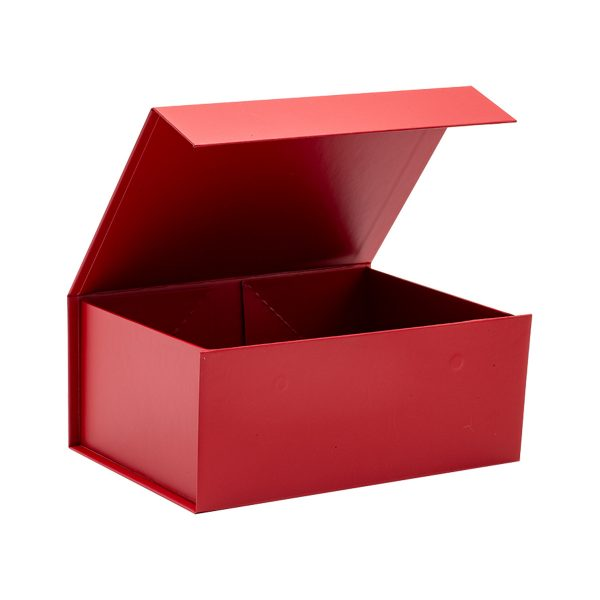 Foldable Red Magnetic Gift Box Packaging