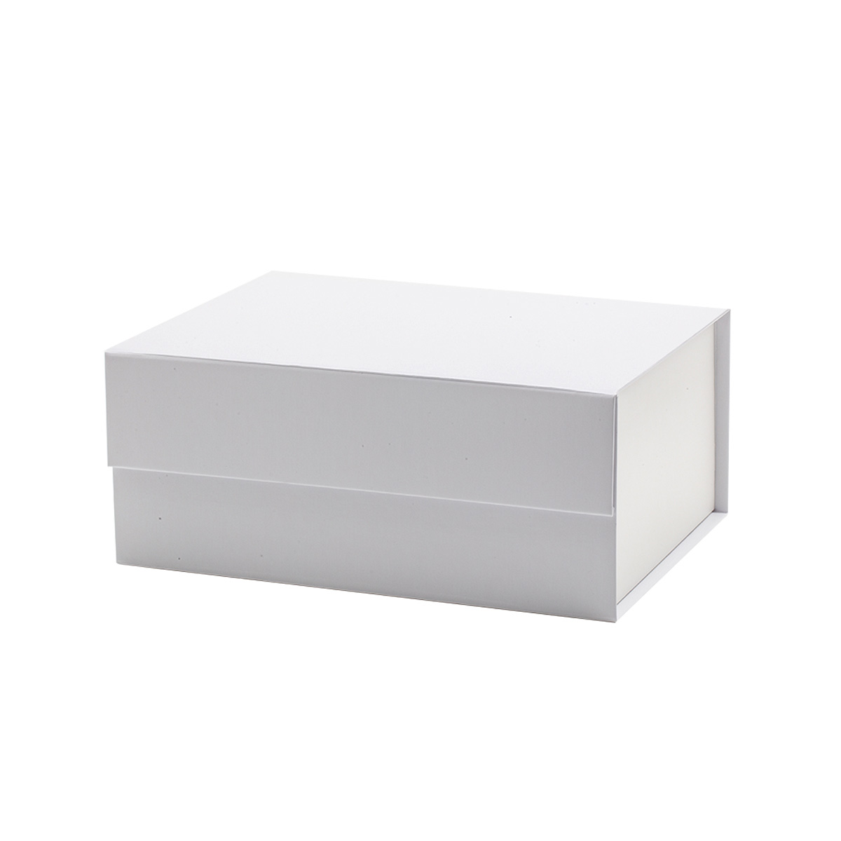 23.5*17*10 White Magnetic Flap Gift Box