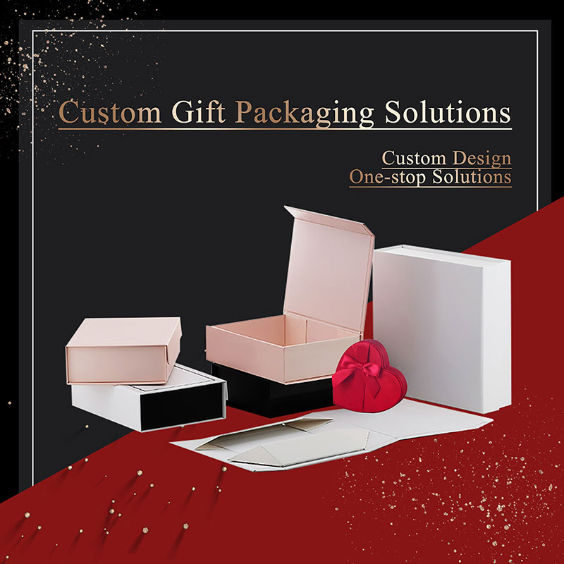 Bulk gift boxes with different colors and sizes