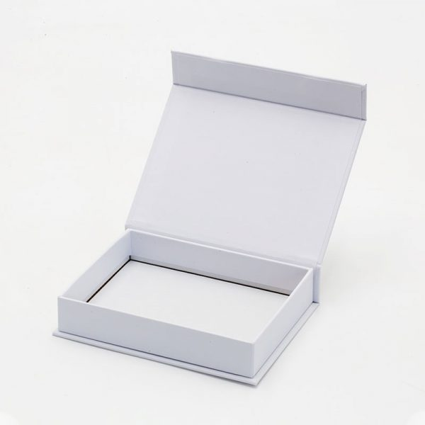 White small gift box with magnetic lid
