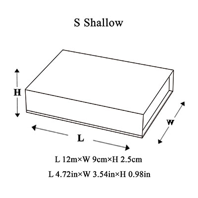 Small Shallow Magnetic Gift Box